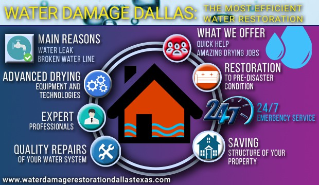 Water Damage Dallas Service
