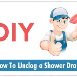 How to Unclor a Shower Drain
