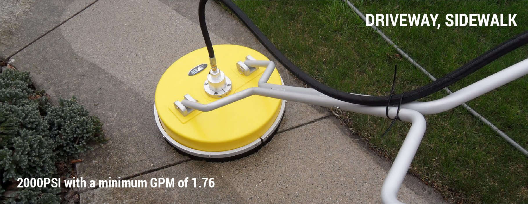 What PSI Do You Need To Pressure Wash a Driveway?