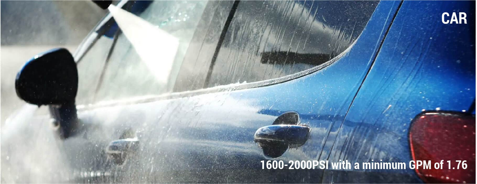 What PSI To Wash a Car?
