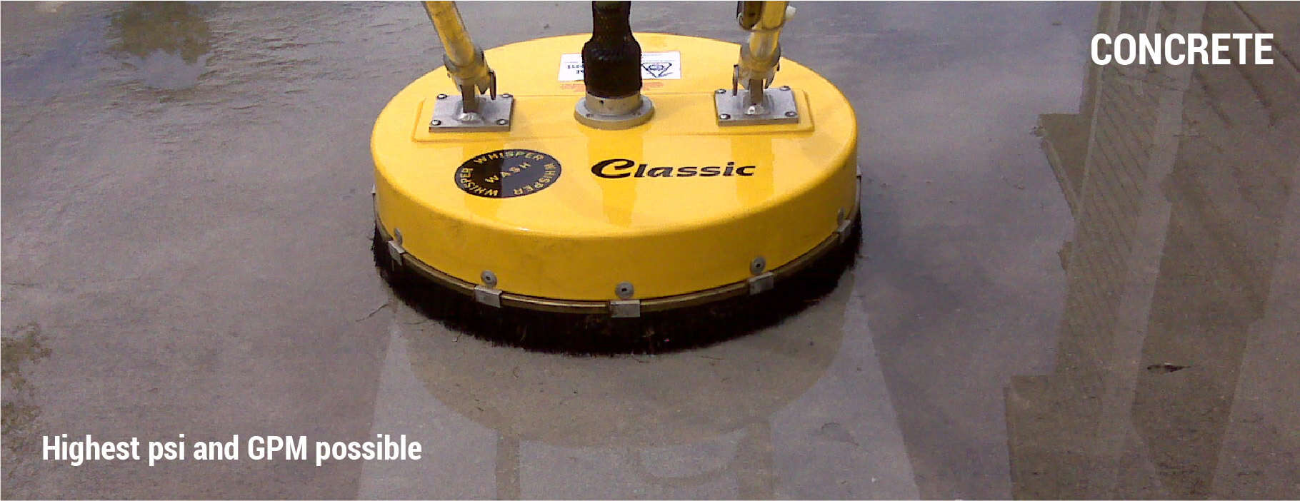 What PSI Pressure Washer To Clean Concrete?