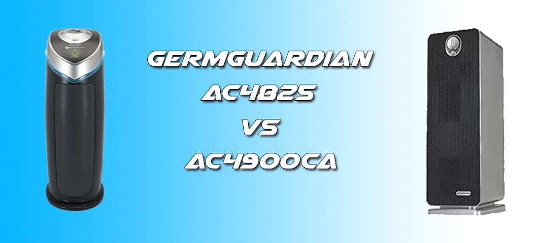 GermGuardian AC4825 vs AC4900CA