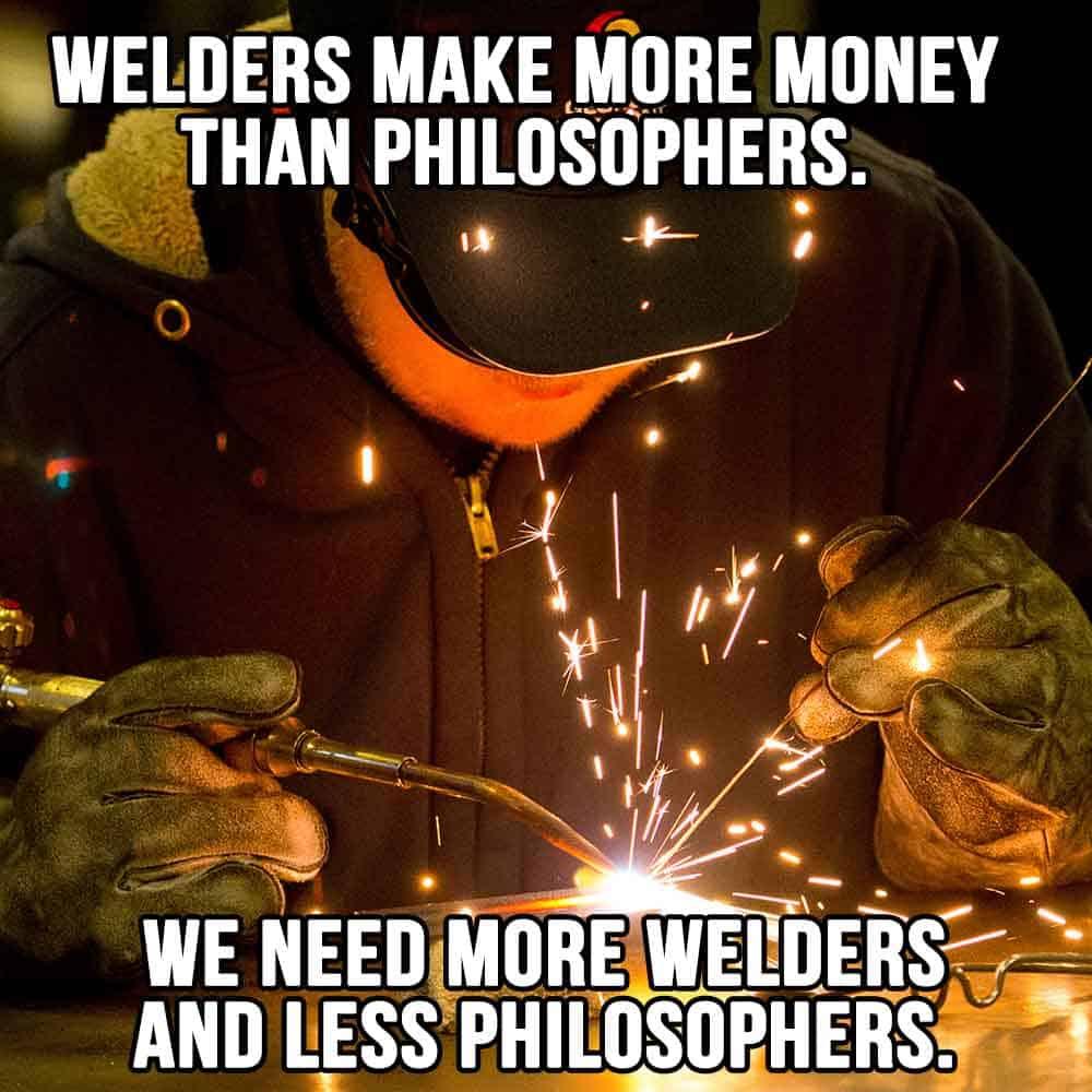 We need more welders
