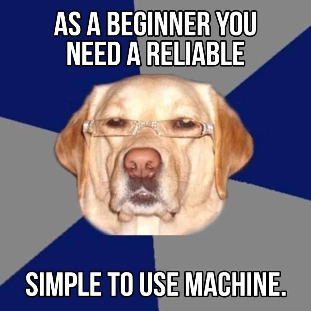 Beginners need reliable welding machines