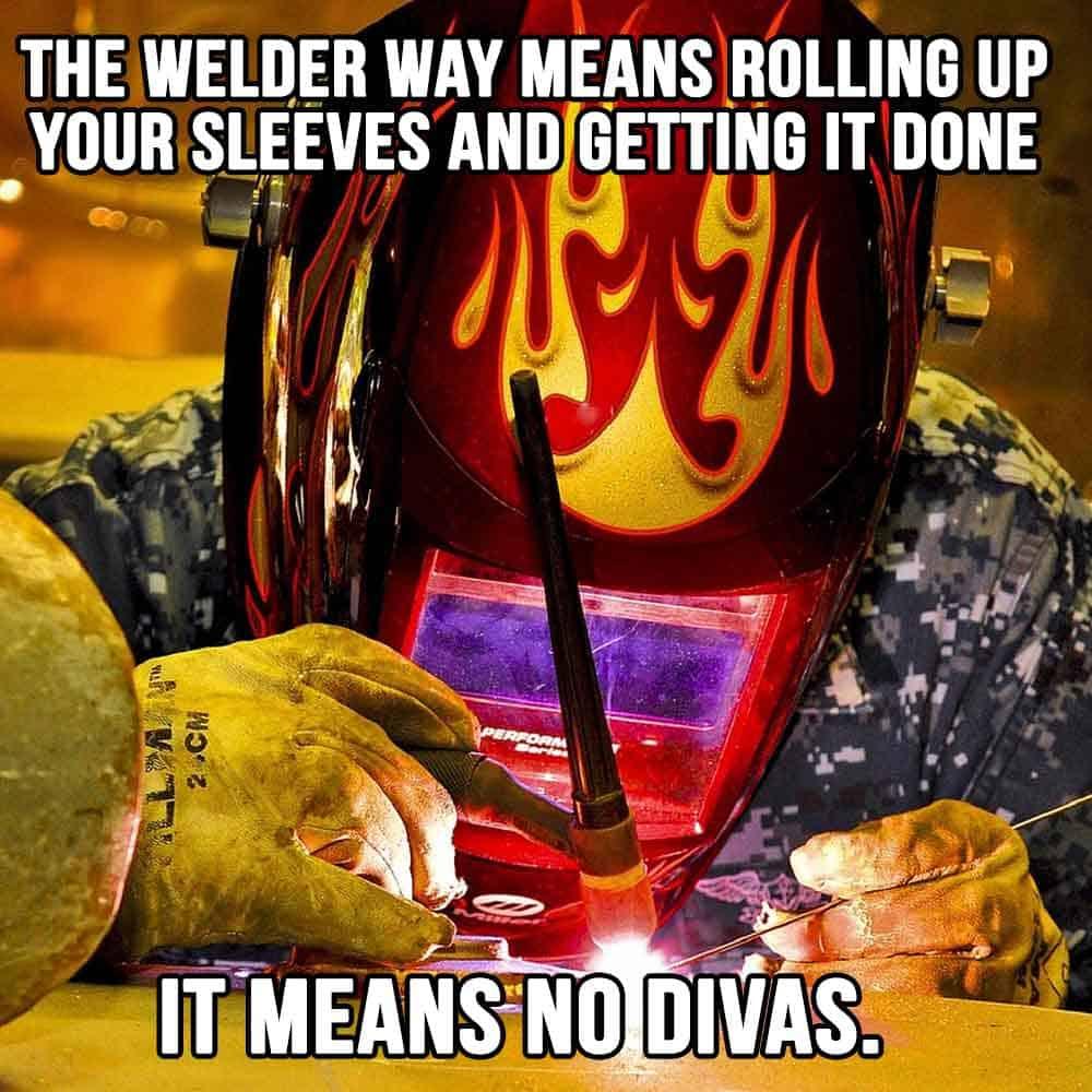 welder needs to handy