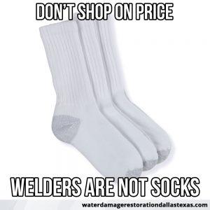 welders are not socks