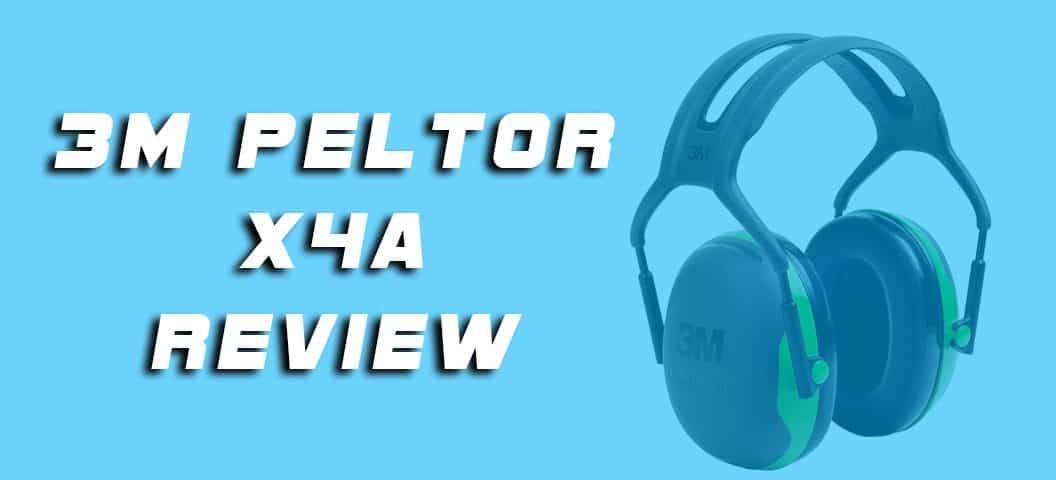 3M Peltor X4A
