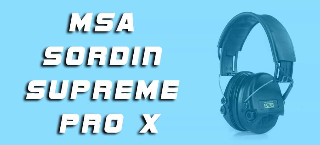 MSA Sordin Supreme Pro