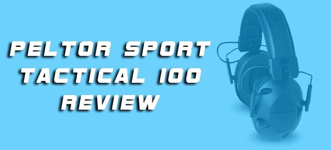 Peltor Sport Tactical 100