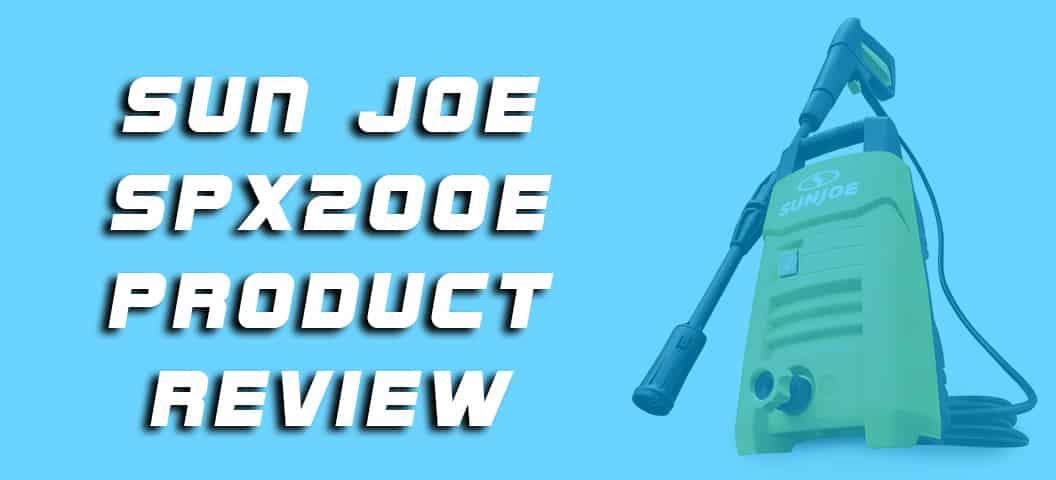 Sun Joe SPX200E