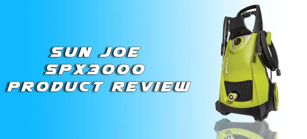 Sun Joe SPX3000