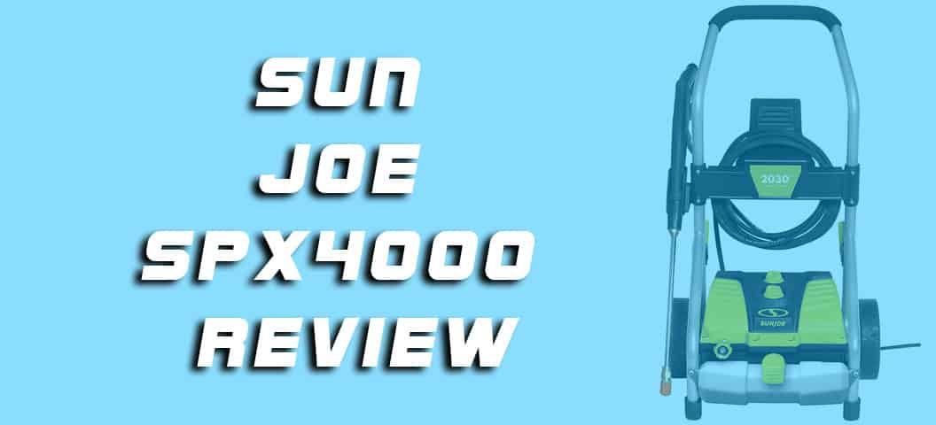 Sun Joe SPX4000