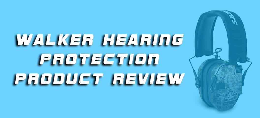 Walker Hearing Protection