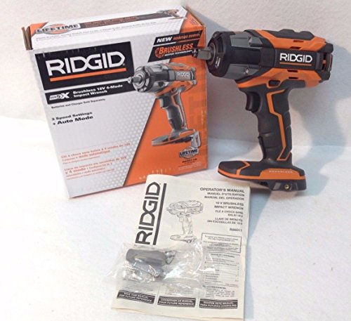 Review Of The Ridgid 5x Impact Wrench Talk About Fresh Off Press