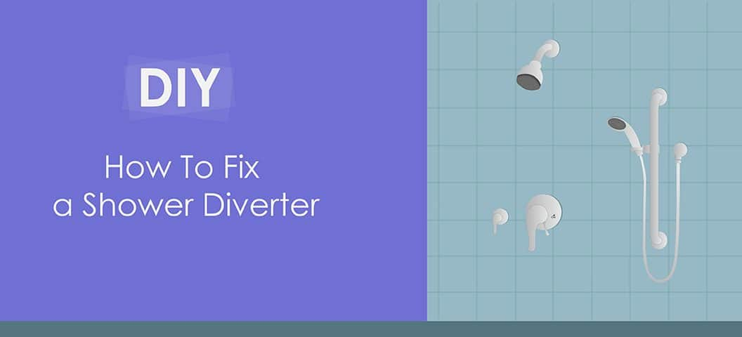 how to fix a shower diverter