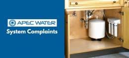 Apec Water System Complains