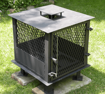 Cool backyard stove