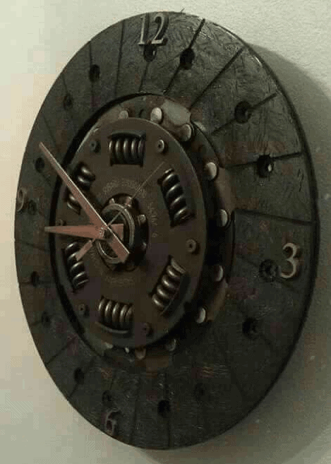 Awesome clock art