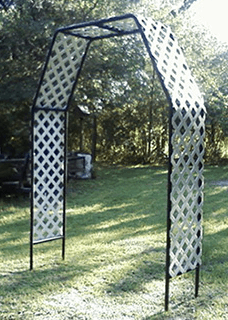Cool patio arbor
