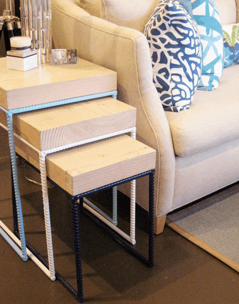 recycled nesting tables