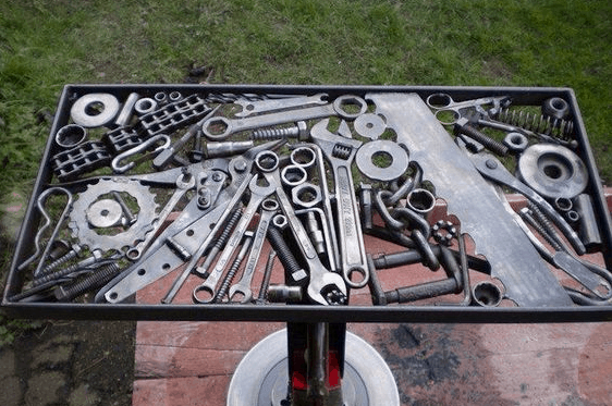 Cool tool and gear table