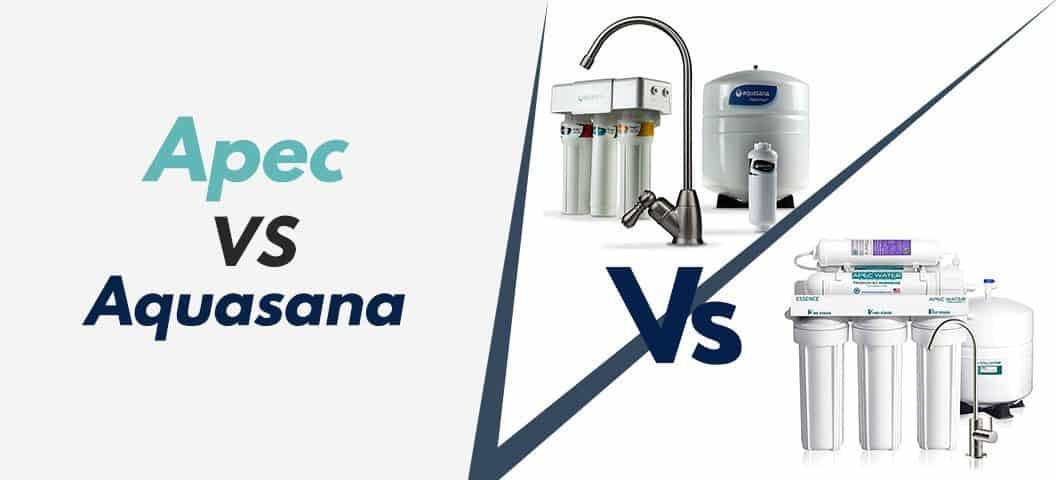 Comparing Apec VS Aquasana