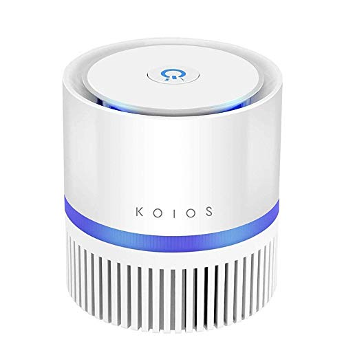 KOIOS Desktop Air Filtration with True HEPA Filter