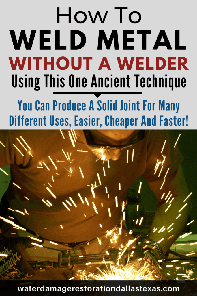 not everyone has a welder. This post gives anyone with a torch to melt aluminium together. This technique has been used for centuries.
