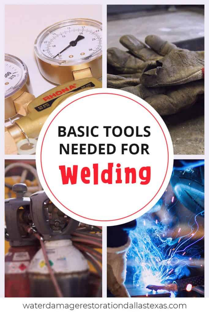 these are the most basic tools that you need to weld, such as: argon gas, welding machine, welding gloves and more