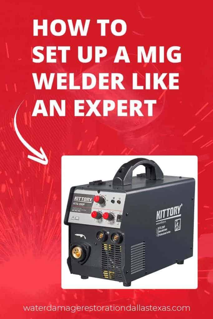 arrow on a mig welder, learn how to setup a welder like pro