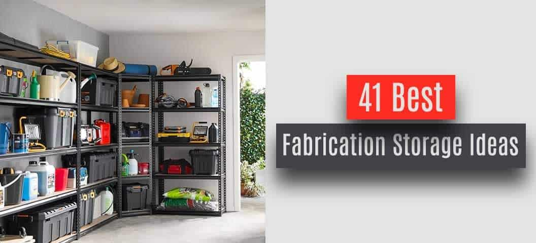 this post is about ideas fabrication owners can get inspiration from to get different storage ideas from in a listicle style